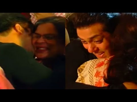 This old video of Salman Khan meeting Reema Lagoo is going VIRAL