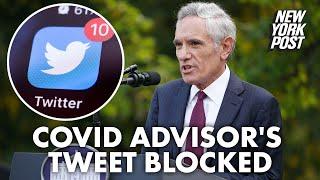 Twitter blocks post from White House science adviser Scott Atlas | New York Post