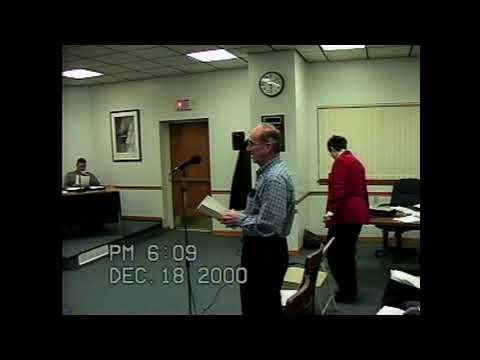 Rouses Point City Meeting  12-18-00