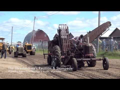 Threshermens Reunion and Stampede, Manitoba Agricultural Museum, Austin MB