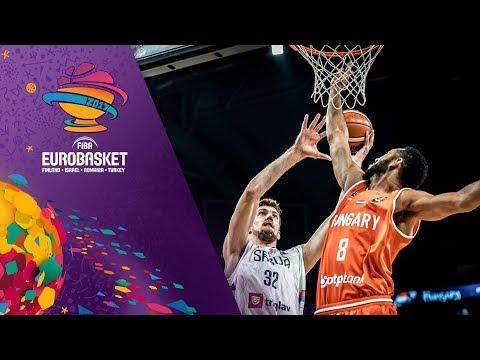 Serbia v Hungary - Highlights - FIBA EuroBasket 2017