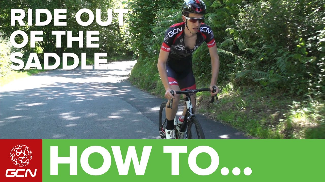 how to ride out of the saddle