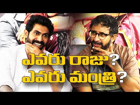 Rana's Boxing Match with Teja - TV9 Exclusive