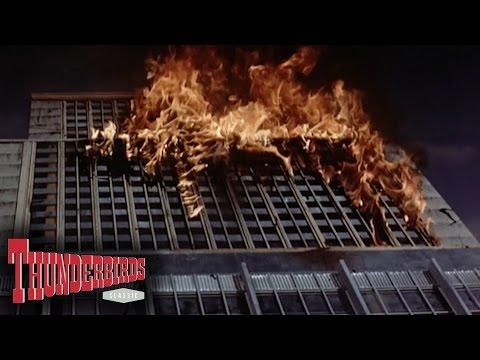 Mr Prescott Blows Up The Hudson Tower - Thunderbirds