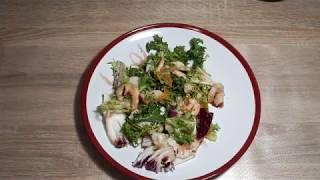 САЛАТ ЗА 5 МИНУТ( здоровая еда)