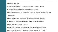 Market Research Report on India Divalproex Sodium