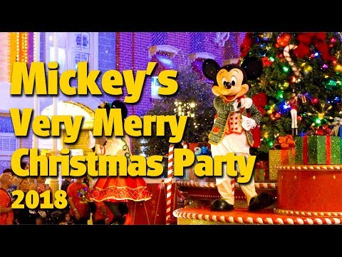 Mickey's Very Merry Christmas Party Vlog 2018 | Magic Kingdom Mp3