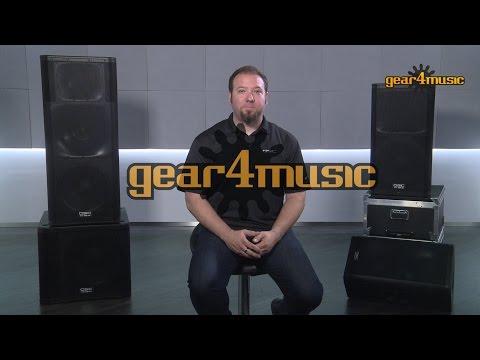QSC KW Series PA Speakers