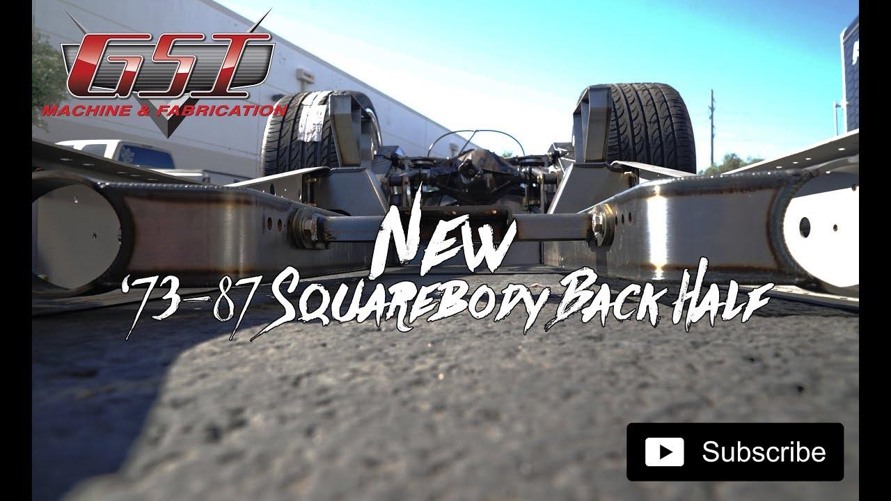 73 87 squarebody backhalf kit on a chassis [ 1280 x 720 Pixel ]