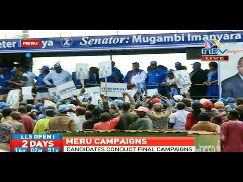 Leaders in Meru engage in last minute campaigns