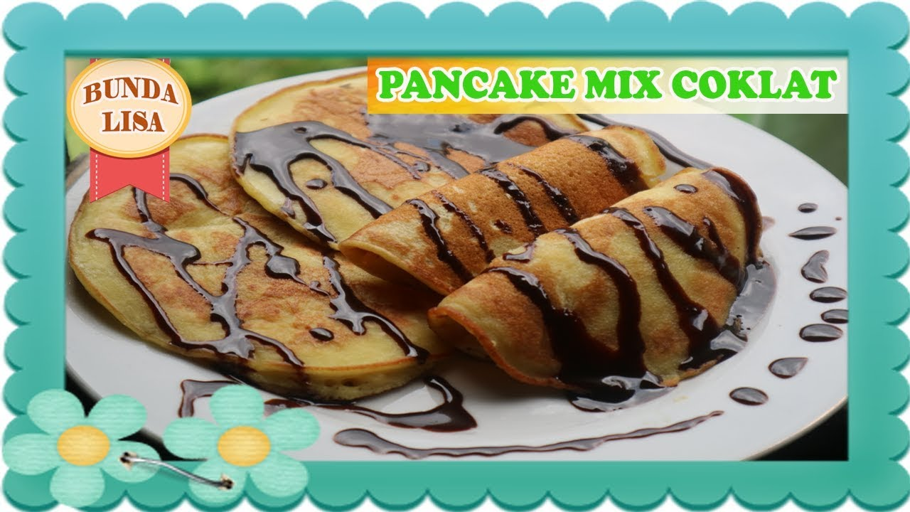 Resep Dan Cara Instant Membuat Pancake Mix Coklat Pancake Coklat Haan How To Make Pancake Youtube