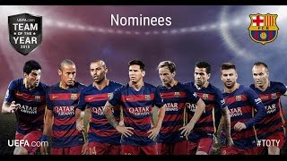 For the fifth time, voting is now open eleven players in uefa team of year. all users official website have until tuesday 5 janua...