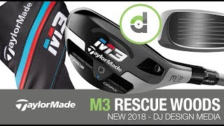 TaylorMade Golf M3 Rescue Club NEW! 2018