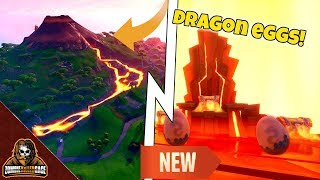 🔥FORTNITE SEASON 8 NEW DRAGON EGG LOCATION🔥VOLCANO DRAGON EGGS🔥GIFTCARD GIVEAWAY & MORE🔥