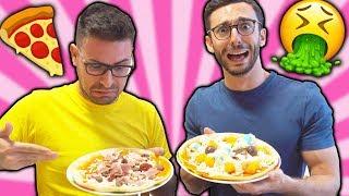 PIZZA CHALLENGE! (finita male)