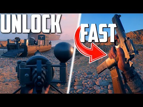 HOW TO UNLOCK The M1912 Machine Pistol FAST! | Battlefield 1 Turning Tides DLC (NEW GUNS)