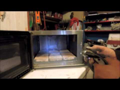 DIY Smelter From A Microwave Oven