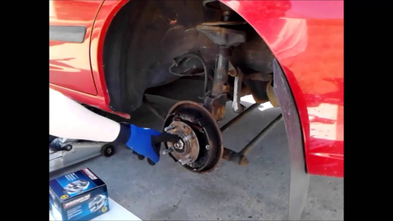 Hyundai accent wheel bearing replacement