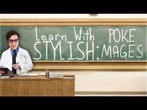 LEARN WITH STYLISH | IN DEPTH GAME COMMENTARY - ZED VS POKE MAGES