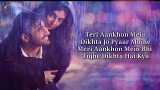Teri Aankhon Mein Lyrics - Divya K | Darshan R, Neha K | Pearl V Manan B | Radhika, Vinay |