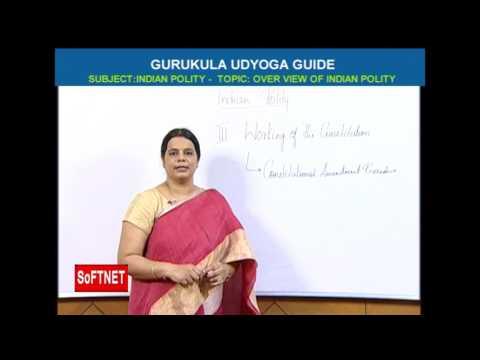 GURUKULAM      Indian Polity -  Over View of Indian Polity      Deepika Reddy