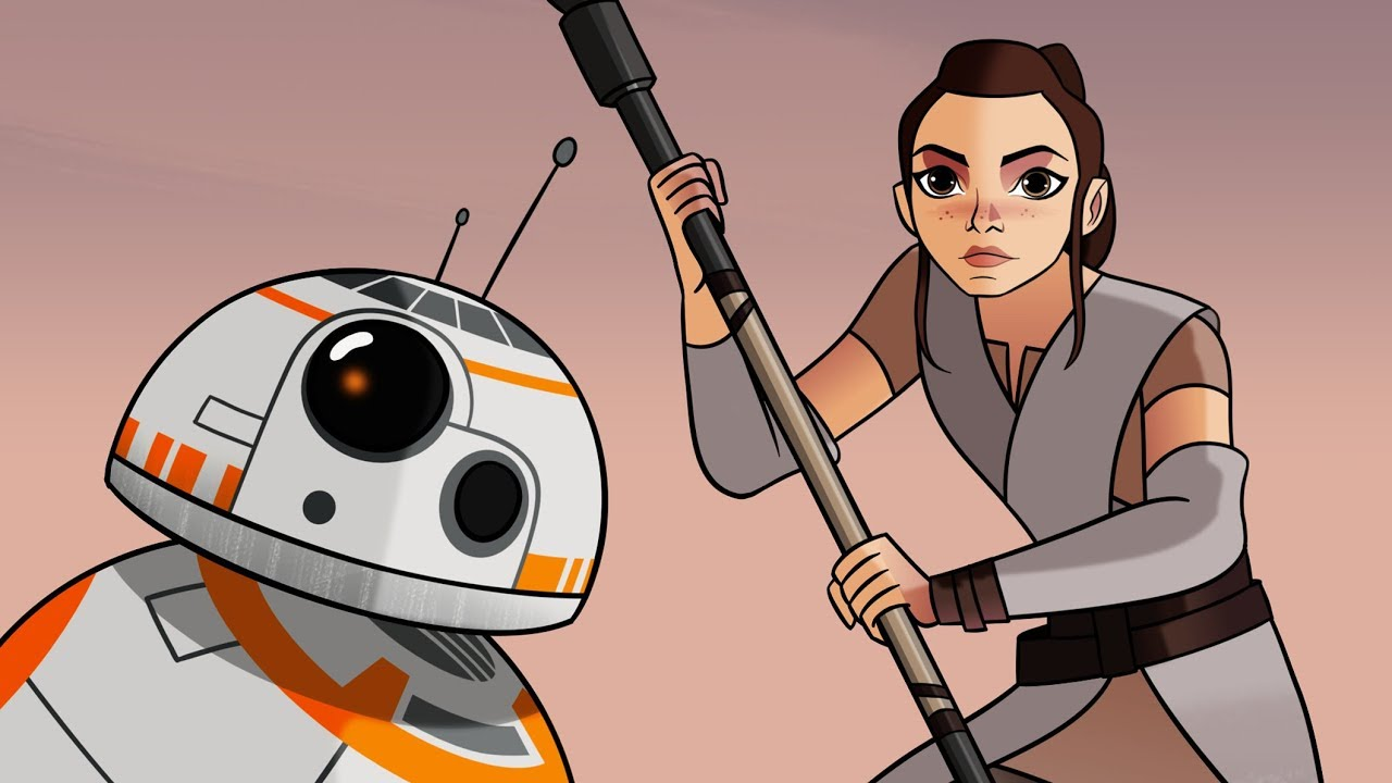 Star Wars Forces Of Destiny Rey S Adventure Disney Youtube