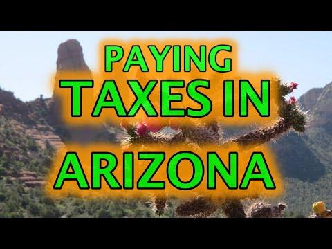 Arizona cryptocurrency pay tazes