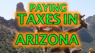 Paying Taxes in Arizona 2020