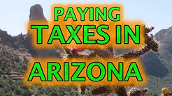Paying Taxes in Arizona 2020