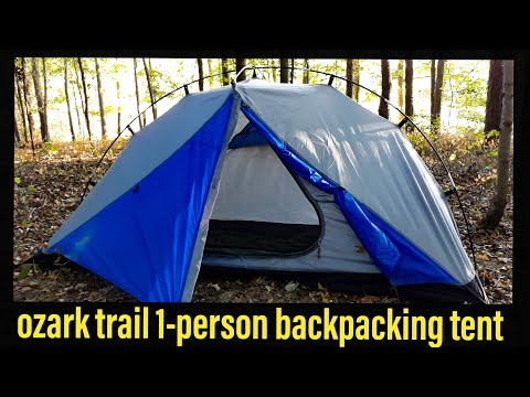 Review: Ozark Trail 1-person Backpacking Tent