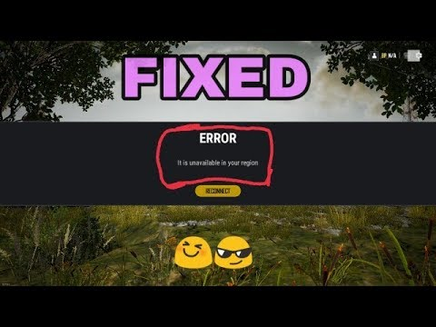 Fixed Pubg Pc Lite It Is Unavailable In Your Region Youtube