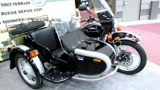2013 Ural Patrol T Sidecar Russian Motorcycle - Walkaround - 2013 Quebec Motorcycle Show