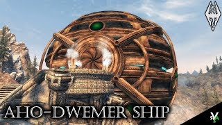 AHO-DWEMER SHIP: Unique Player Home!!- Xbox Modded Skyrim Mod Showcase
