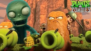 Super Funny! Plants Vs Zombies PVZ 2 Kung Fu Kongfu World HD Movie Cartoon Animation thumbnail