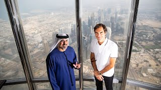 On Top of the World with Roger Federer - Dubai Duty Free Tennis Championships