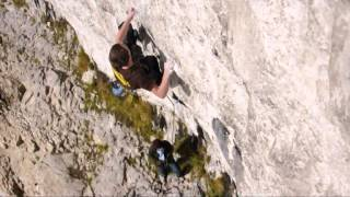 William Bosi - climbing Raindogs 8a