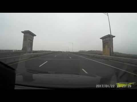 Car dashcam video of my drive from North Brunswick, NJ to JFK Airport, NY