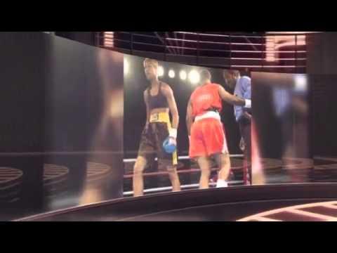 boxing training program syracuse ny - evander russ 1st kick
