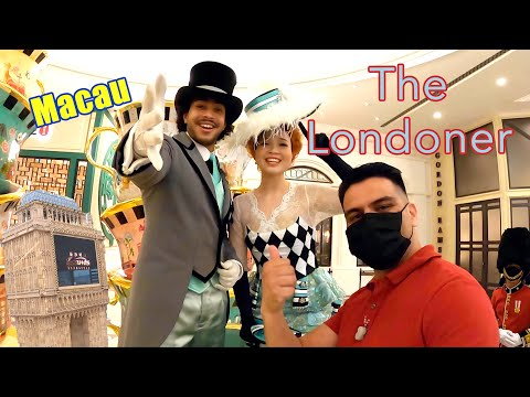 Macau's Newest Casino - The Londoner Casino a surprisingly good time