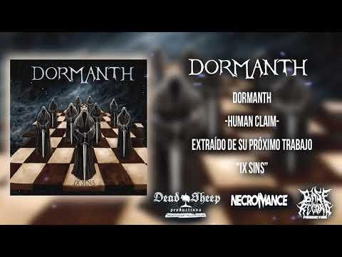 "DORMANTH (ESP) - HUMAN CLAIM - SINGLE  - ""IX SINS"" ALBUM (MARZO 2018)"