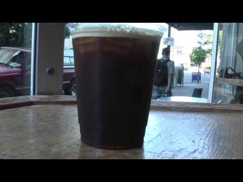 portland oregon, Nitrogen Coffee at stumptown coffee (cold brew)