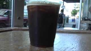 portland oregon, Nitrogen Coffee at stumptown coffee (cold brew)
