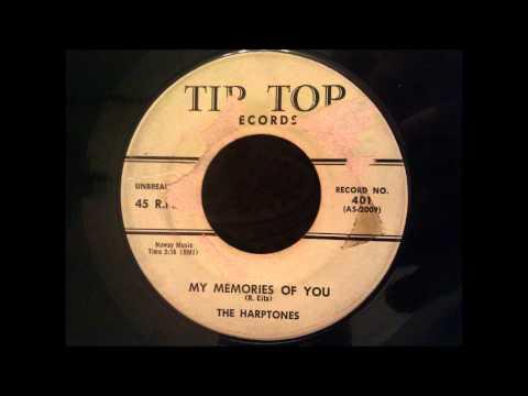 Harptones  My Memories Of You 1956 Version  Classic NYC Doo Wop