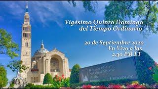 La Misa el 25º Domingo del Tiempo Ordinario