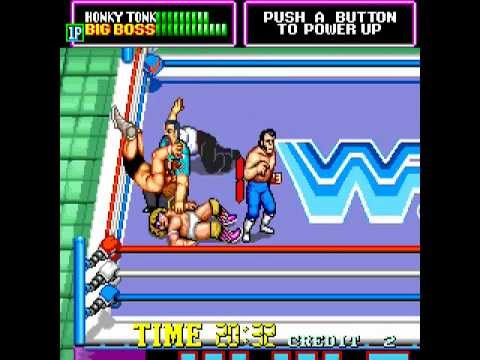 Arcade Longplay [351] WWF Superstars