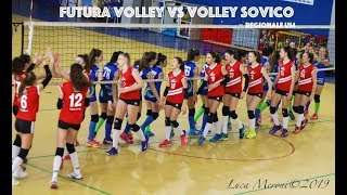 Pallavolo U14F - REGIONALI - Futura Volley  vs  Volley Sovico