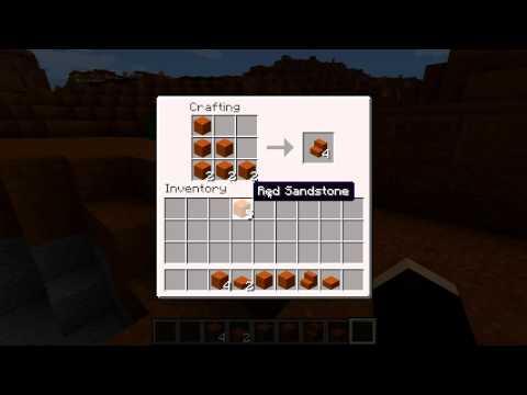 Minecraft Blocks & Items: Red Sandstone