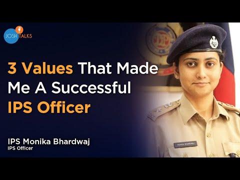 3 Core Values That Defined Who I Am  | IPS Monika Bhardwaj | Josh Talks