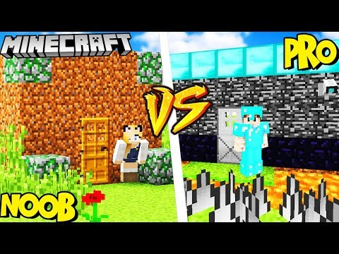 DOM PRO VS DOM NOOB! - MINECRAFT | Vito vs Bella thumbnail