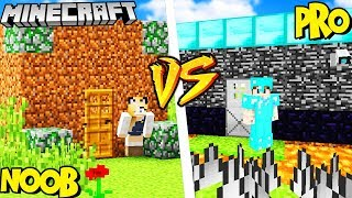 DOM PRO VS DOM NOOB! - MINECRAFT | Vito vs Bella